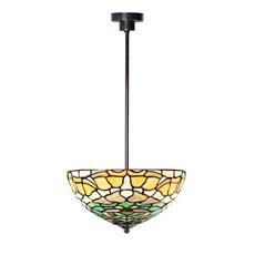 Tiffany Angular Pendant Lamp Campanula