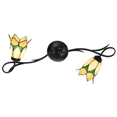 Tiffany Wall Lamp/Ceiling Lamp Lovely Flower Yellow 2