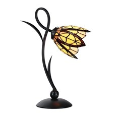Tiffany Table Lamp Lovely Flow Souplesse small