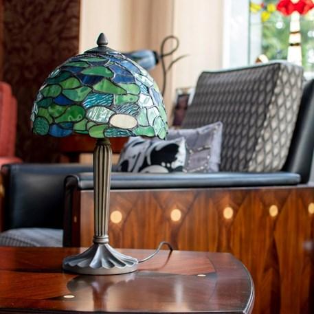 Tiffany Table Lamp Hydrangea