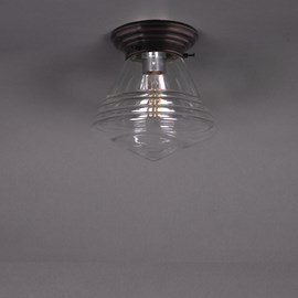 Ceiling Lamp School  de Luxe small Transparent