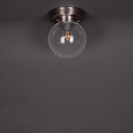 Ceiling Lamp Bulb Cracle Transparent