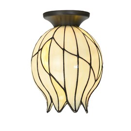 Tiffany Ceiling Lamp Nature Open