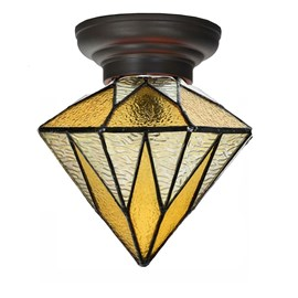 Little Tiffany Ceiling Lamp Aiko Yellow